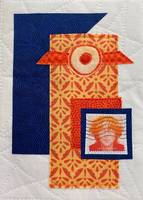 John Lennon Imagine - Textile Collage
