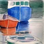 """Boats at Peggy"
