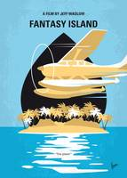 No1237 My Fantasy Island minimal movie poster