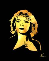 Blondie | Debbie Harry | Gold Series | Pop Art