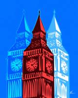 Triple Big Ben | Pop Art
