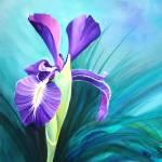 """Purple Iris"" by ChristineD"