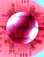 Hot Pink Sphere