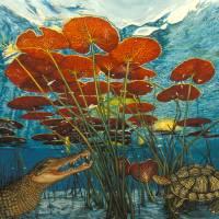 Laguna del Tesoro: A Fable Art Prints & Posters by Elena Maza
