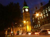 Westminster clock tower
