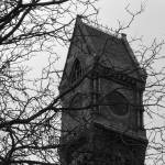 """Worcester State Hospital Clock Tower"" by gpage"