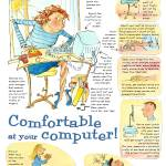 """""""Comfortable at your computer"""" by moiramunro"""
