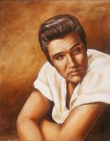 Elvis, Oil on canvas