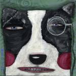 """""""Monocle Dog"""" by SharonBloom"""