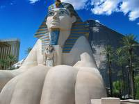The Luxor in Las Vegas