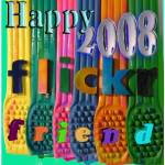 """Happy Flickr 2008"" by SilverArtist"
