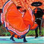 """Mexican Dance, Old Town San Diego"" by BeaconArtWorksCorporation"
