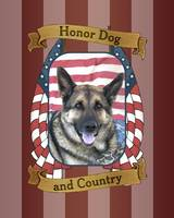 German Shepherd Honor Dog