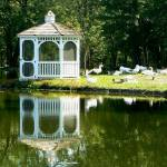 """Gazebo Reflection"" by FayePhotography"