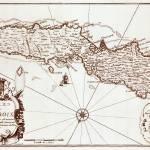 """""""1671 St. Croix map"""" by ArtistiquePrints"""