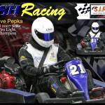 """Steve with BSH Racing Logo - Fall 2007"" by Kart-Race-Art"