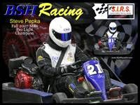 Steve with BSH Racing Logo - Fall 2007