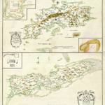 """1734 St. Thomas and St. Croix map"" by ArtistiquePrints"