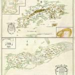 """1734 St. Thomas and St. Croix map"" by ArtistiquePrints"