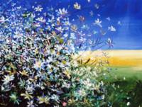 Wild Daisies - Floral Painting By M. Zampedroni