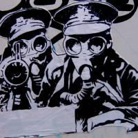 Cork Graffiti Paste-Up Art Prints & Posters by kieran hynes
