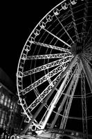 balck and white wheel