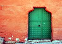 Door In Orange