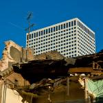 """DEMOLITION republic hotel"" by atom"