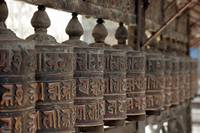 Tibetan Buddhist Prayer Wheels