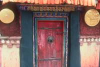 Jokhang door
