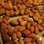 """Almonds on a Roasting Tray"" by LyndaLehmann"