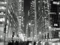 Madison Ave in B&W