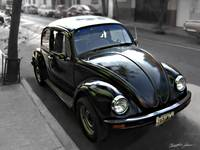 Black VW Bug 1