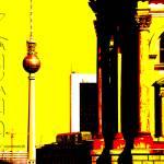 """berlin illu - fernsehturm and ..."" by fuxart"