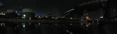 Moonset Over Gowanus