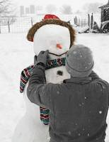 Making of a snowman
