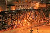 Arsenal Bridge.Davenport Iowa