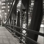 """Bridge over Chicago river"" by PatrickWarneka"