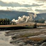 """Yellowstone view from Old Faithful"" by eyecontact"