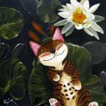 """Catmasutra- The Bearable Lightness of Being"" by catmasutra"