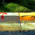 """""""curb round color arrow and tire drawing"""" by eyecontact"""