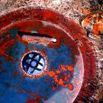 """""""CURB: rusty circle"""" by eyecontact"""
