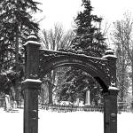"""Washington Street; Cemetery"" by Llewellyn"