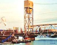 Tug Boats Under the Drawbridge