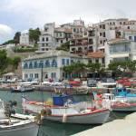 """Skopelos Port"" by BuckeyePhotography"