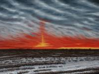Prairie Pillar Sunrise