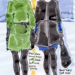 """Green Fleece and Black Zippy"" by davidcornelius"
