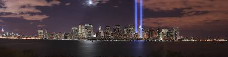 Tribute in Light Panorama