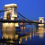 """Budapest Széchenyi Chain Bridge"" by CruisAir"