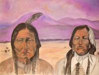 Indians-Chief Sitting Bull and Chief Crazy Horse